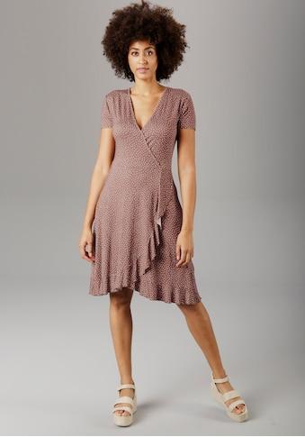 Aniston SELECTED Sommerkleid, mit Rüschenverzierung kaufen