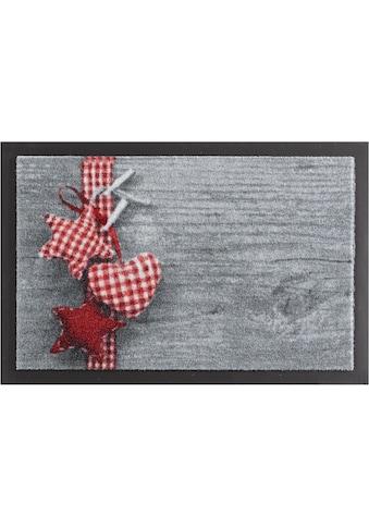 HANSE Home Fussmatte »Stern mit Herz«, rechteckig, 7 mm Höhe, Fussabstreifer,... kaufen