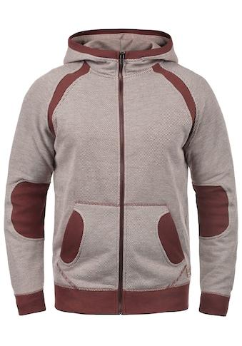 Blend Kapuzensweatjacke »Stuart«, Sweatshirtjacke mit kontrastreichen Details kaufen