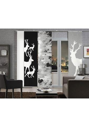 emotion textiles Schiebegardine »Hirsch«, HxB: 260x60 kaufen