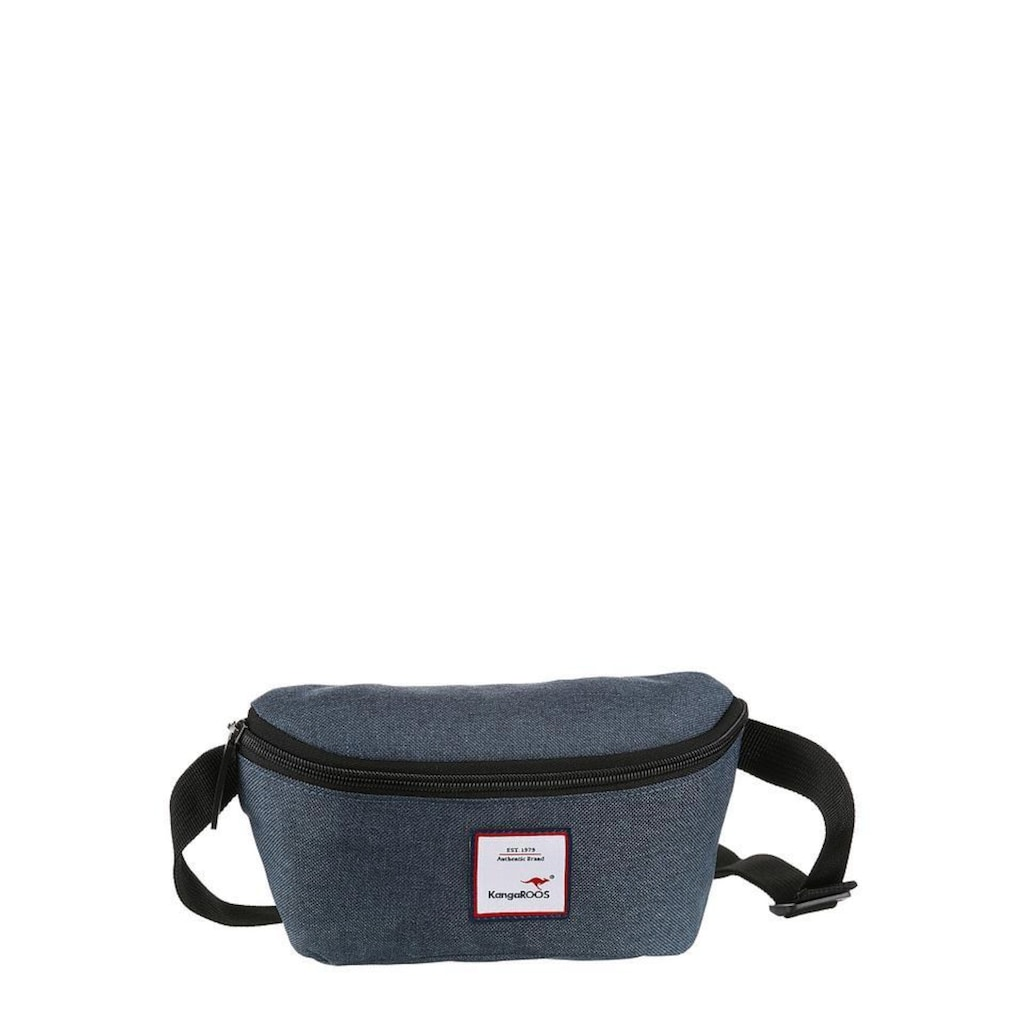 KangaROOS Gürteltasche, mit praktischem Reissverschluss-Rückfach