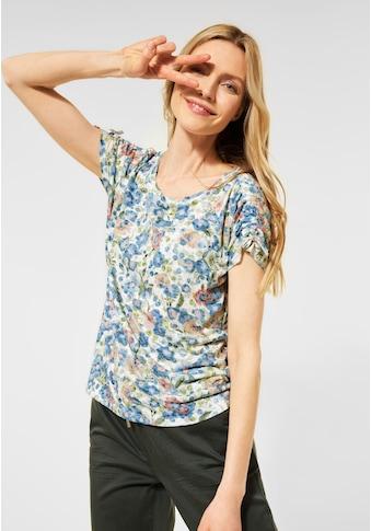 Cecil Rundhalsshirt, im Washed Colour-Style kaufen