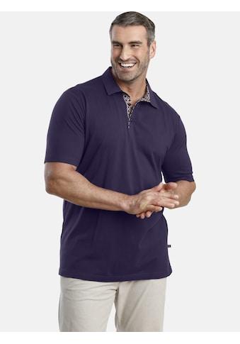 Charles Colby Poloshirt »EARL ALON«, Knopfleiste mit Kontrast kaufen