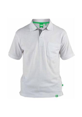 Duke Clothing Poloshirt »Herren Pique- Grant mit Brusttasche« kaufen