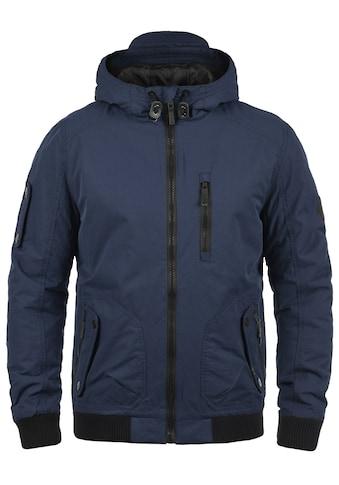 Blend Kurzjacke »Marc«, warme Jacke mit Reissverschlüssen in Kontrastfarben kaufen