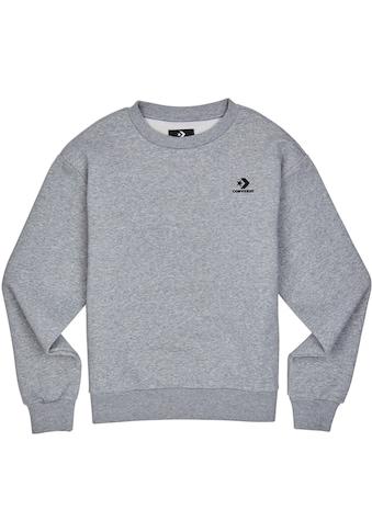Converse Sweatshirt »WOMENS EMBROIDERED STAR CHEVRON PULLOVER HOODIE BB« kaufen