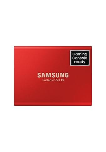 Externe SSD Portable, Samsung, »T5 500 GB USB 3.1 Gen 2« kaufen