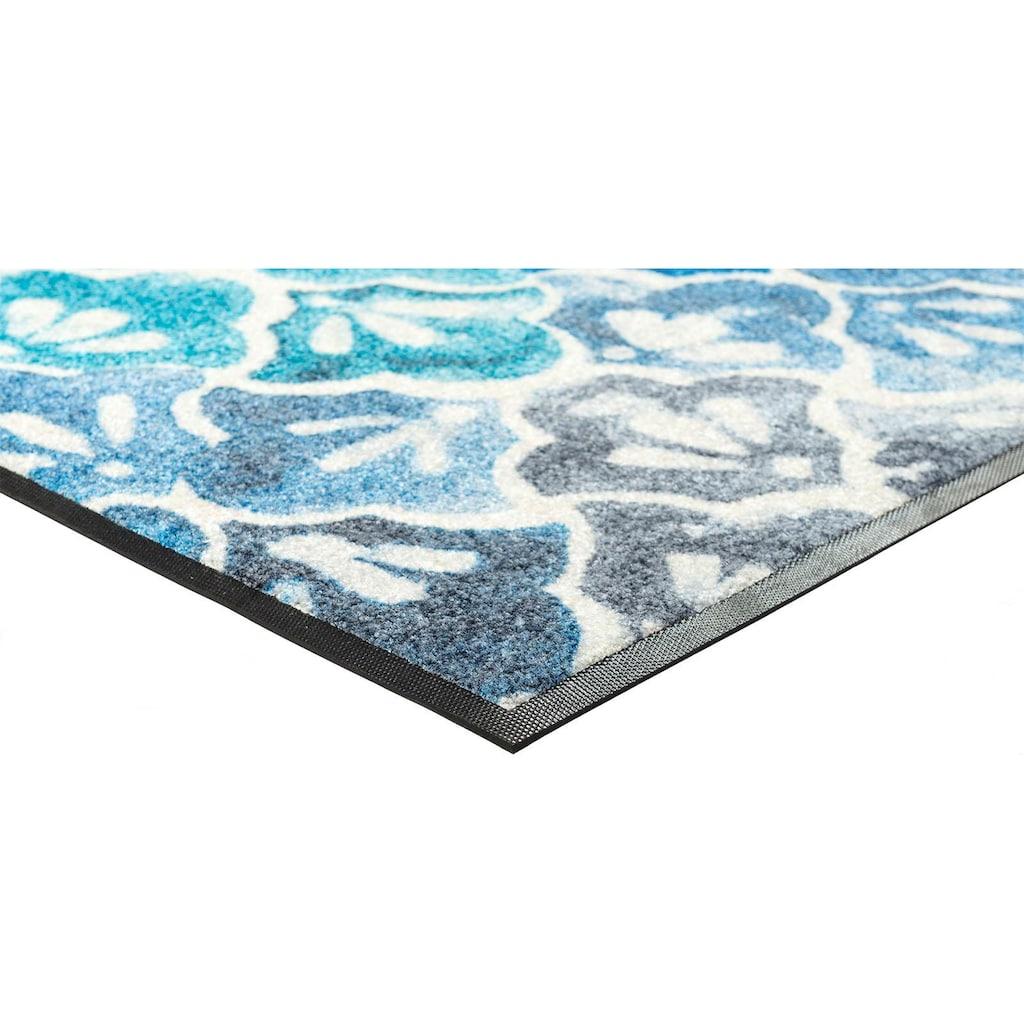 wash+dry by Kleen-Tex Fussmatte »Ground«, rechteckig, 7 mm Höhe, Schmutzfangmatte, In- und Outdoor geeignet, waschbar