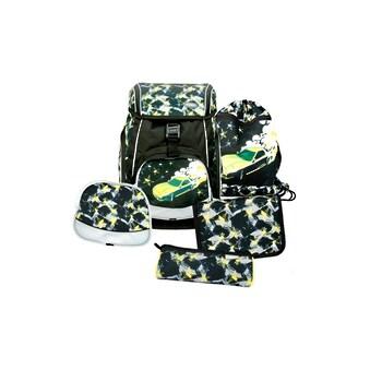 Schulthek - Set, Funki, »Flexy - Bag Fast Car, 5 - teilig« kaufen