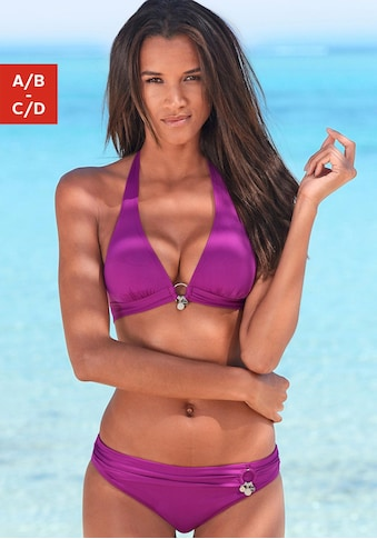s.Oliver Beachwear Triangel-Bikini, mit Accessoires kaufen