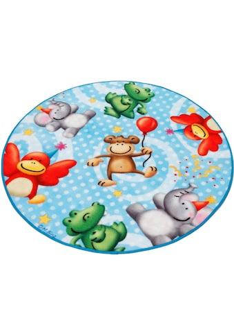 Böing Carpet Kinderteppich »Lovely Kids LK-4«, rund, 2 mm Höhe kaufen