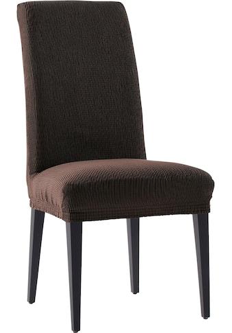 my home Stuhlhusse »Rustica«, mit leichtem Struktur-Effekt (2 Stück) kaufen