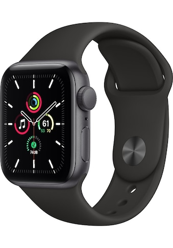 Apple Smartwatch »Apple Watch Series SE GPS, Aluminium Gehäuse, 40 mm mit Sportarmband«,  kaufen
