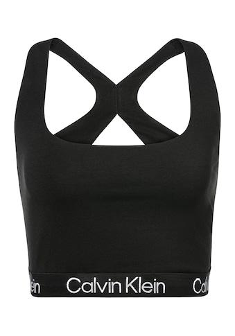 Calvin Klein Bralette »MODERN STRUCTURE«, Cut-out-Racerback kaufen