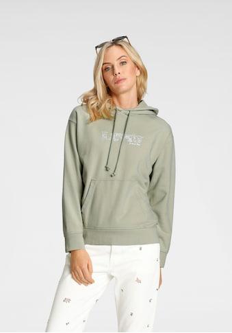 Levi's® Hoodie »Graphic Standard«, mit floralem Markenschriftzug kaufen