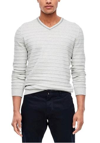 s.Oliver V - Ausschnitt - Pullover kaufen