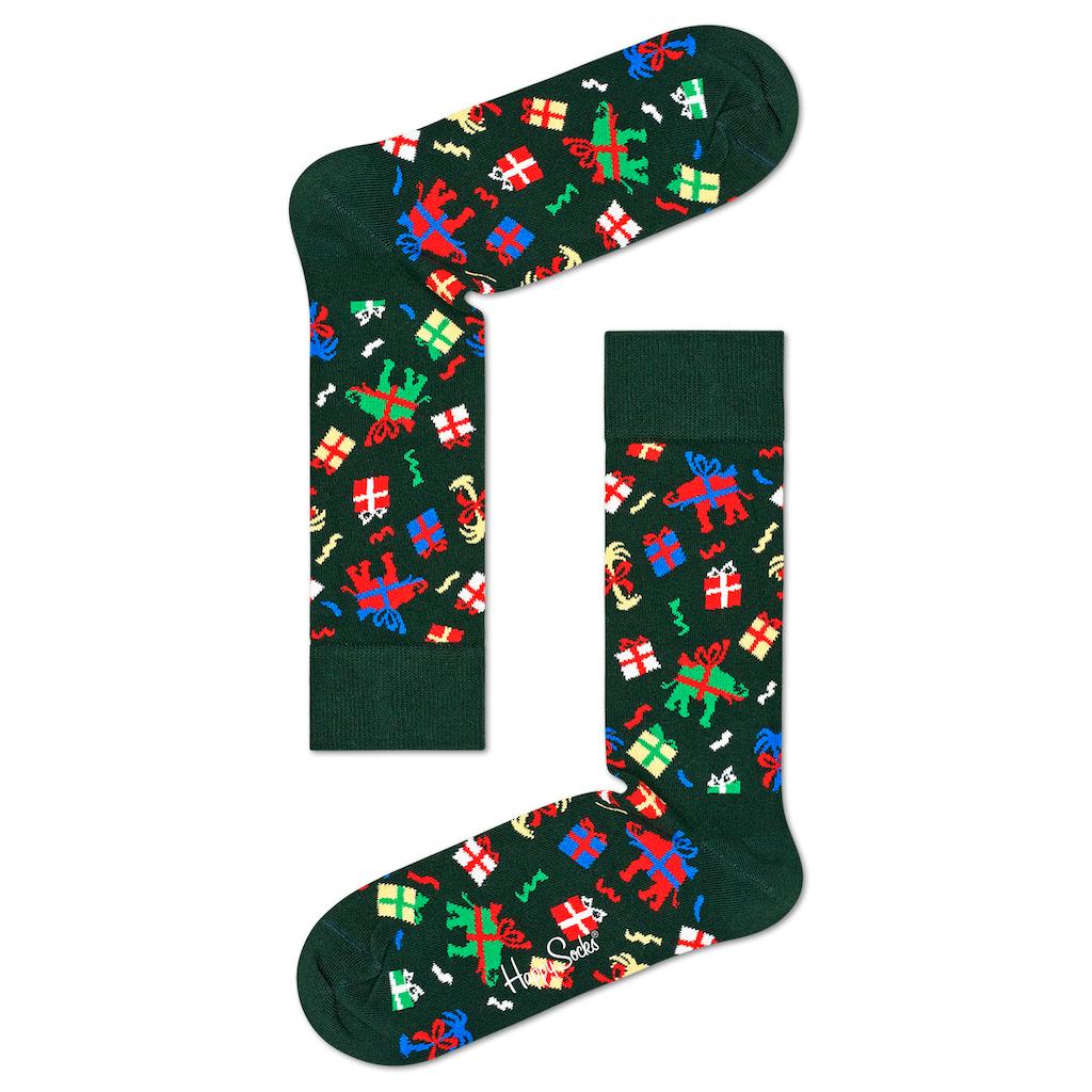 Happy Socks Socken, (3 Paar), in der weihnachtlichen Geschenkpackung