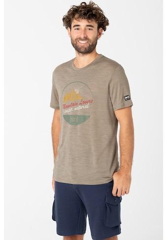 SUPER.NATURAL T-Shirt »M ADVENTURE TEE«, funktioneller Merino-Materialmix kaufen