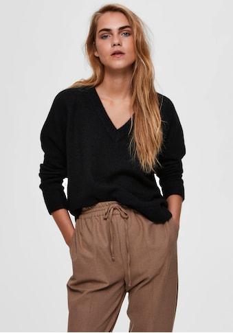 SELECTED FEMME V - Ausschnitt - Pullover »SLFLULU« kaufen