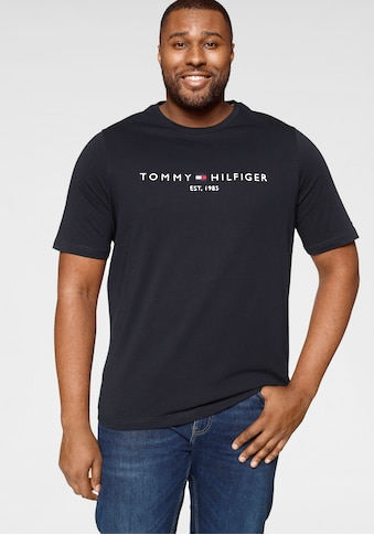 Tommy Hilfiger Big & Tall T-Shirt »BT- TOMMY LOGO TEE« kaufen