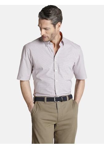 Charles Colby Kurzarmhemd »EUAN«, mit veredelten Kontrastdetails kaufen