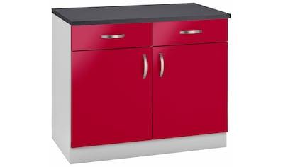 wiho Küchen Unterschrank »Amrum«, 100 cm breit kaufen