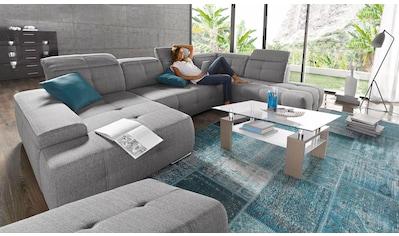 sit&more Wohnlandschaft, wahlweise mit Bettfunktion, inklusive Kopfteilverstellung kaufen