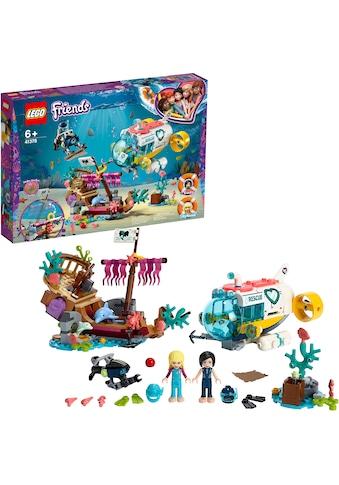 """LEGO® Konstruktionsspielsteine """"Rettungs - U - Boot für Delfine (41378), LEGO® Friends"""", Kunststoff, (363 - tlg.) kaufen"""