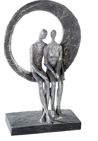 Casablanca by Gilde Dekofigur »Skulptur Love Place«, Dekoobjekt, Höhe 30 cm, Pärchen,... kaufen