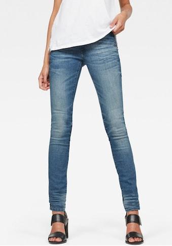 G-Star RAW Skinny-fit-Jeans »Lynn Mid Waist Skinny«, moderne Version des klassischen 5-Pocket-Designs kaufen
