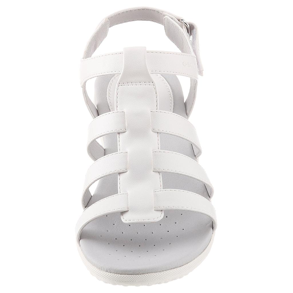 Geox Sandale, mit atmungsaktiver Laufsohle