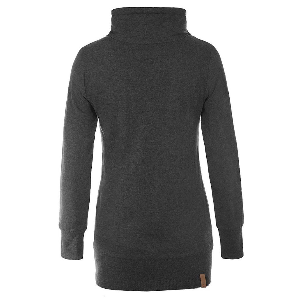 Blendshe Sweatshirt »Jannika«, Pullover lang geschnitten
