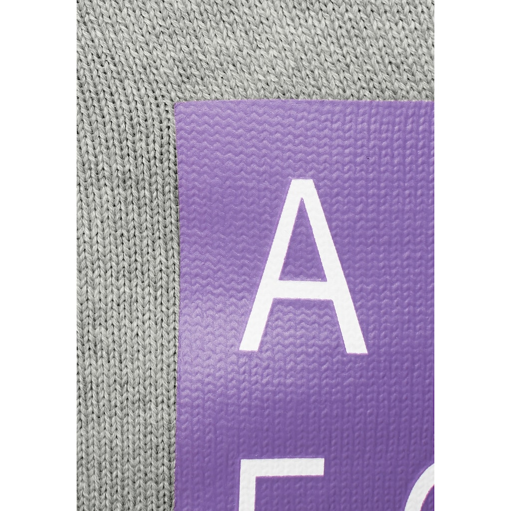 AJC Strickpullover, mit grossem Rückenprint