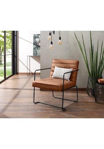 Home affaire Loungesessel »Panama«, mit einem schönen Metallgestell und einem... kaufen