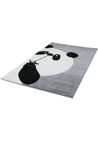 Carpet City Kinderteppich »Bueno Kids 1389«, rechteckig, 13 mm Höhe, Panda Bär in... kaufen