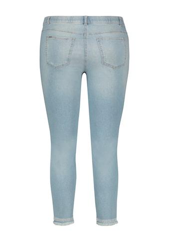 Samoon 7/8 - Jeans »7/8 Betty Jeans mit Used - Effekt« kaufen