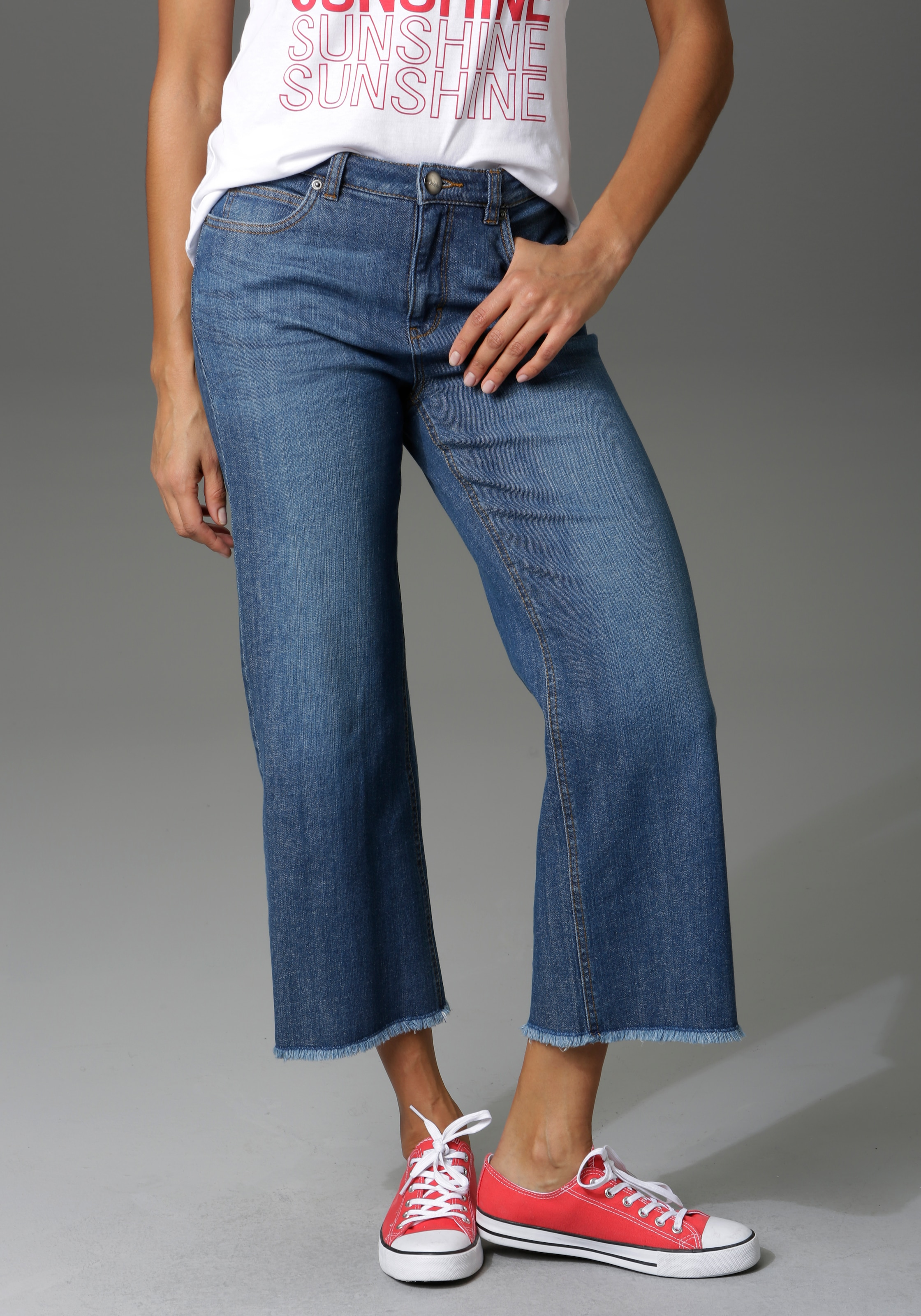 Image of Aniston CASUAL 7/8-Jeans