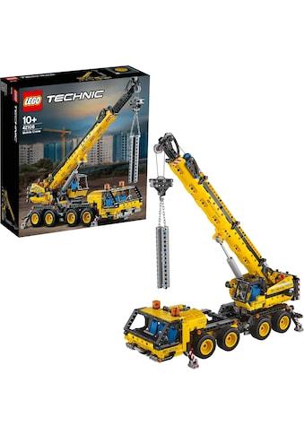 LEGO® Konstruktionsspielsteine »Kran-LKW (42108), LEGO® Technic«, (1292 St.), Made in... kaufen