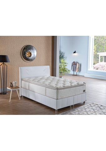 İSTİKBAL Bonnellfederkernmatratze »New IQ Comfort«, 930 Federn, (1 St.), intelligent kombinierter, doppelter Federkern mit fest vernähtem Komfortschaumtopper kaufen