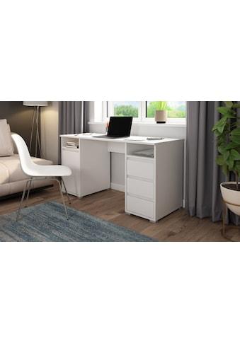 Homexperts Schreibtisch »Loop«, mit 3 Schubkästen und 1 Tür kaufen
