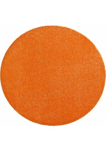 HANSE Home Teppich »Deko Soft«, rund, 7 mm Höhe, waschbar, rutschhemmend, Wohnzimmer kaufen