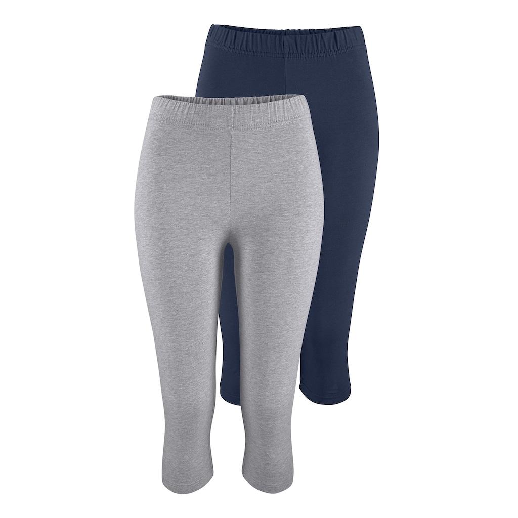 Boysen's Leggings, (Packung, 2er-Pack), in Capri-Länge