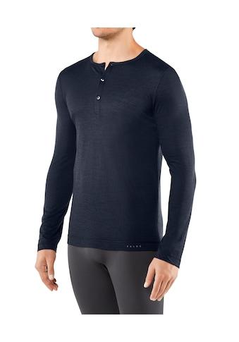 FALKE Langarmshirt »Silk-Wool«, Merinowolle/Seide-Mix kaufen