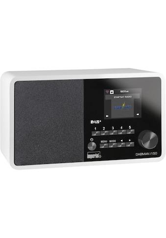 IMPERIAL Internet-Radio »Dabman i150 Weiss«, (WLAN Digitalradio... kaufen