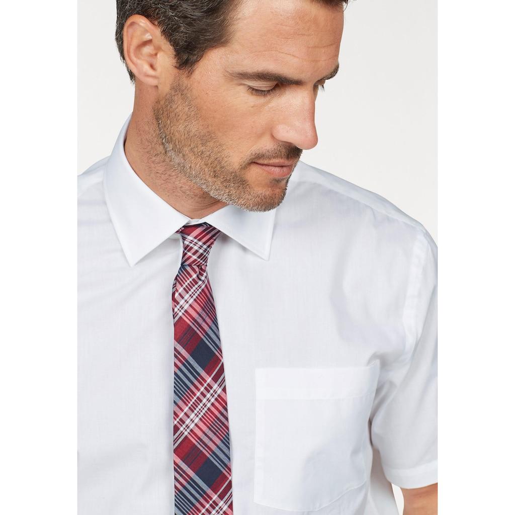 Man's World Businesshemd, Kurzarm