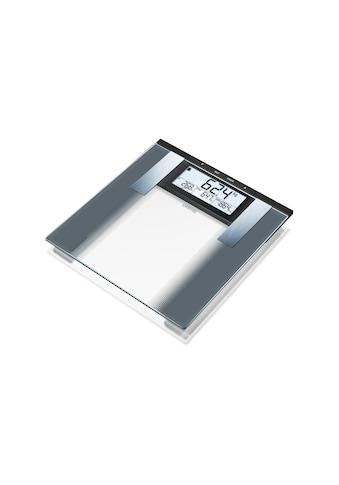 Sanitas Körper-Analyse-Waage »SBG 21 Silberfarben« kaufen