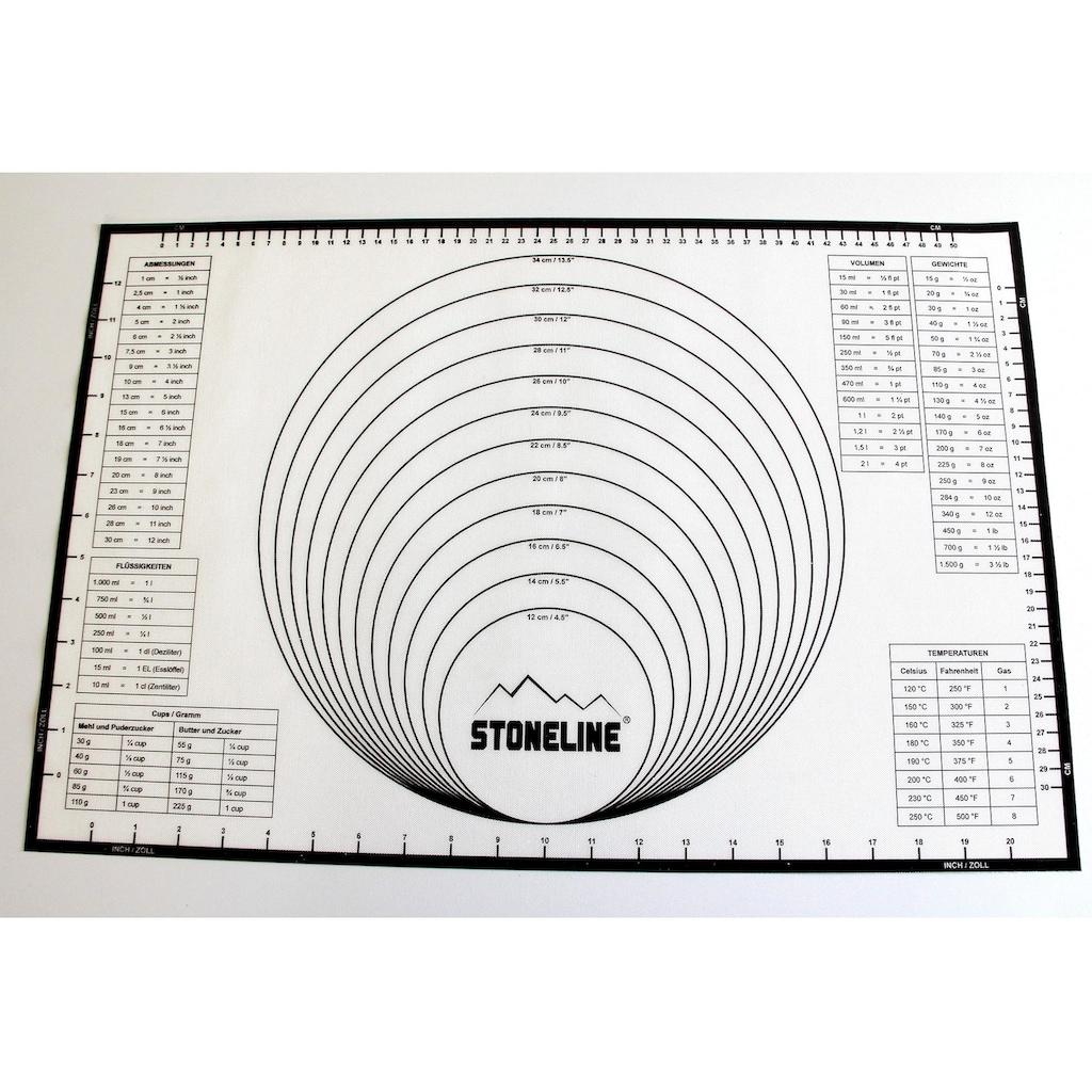 STONELINE Backmatte »2in1«, handelsüblichen Backbleche geeignet