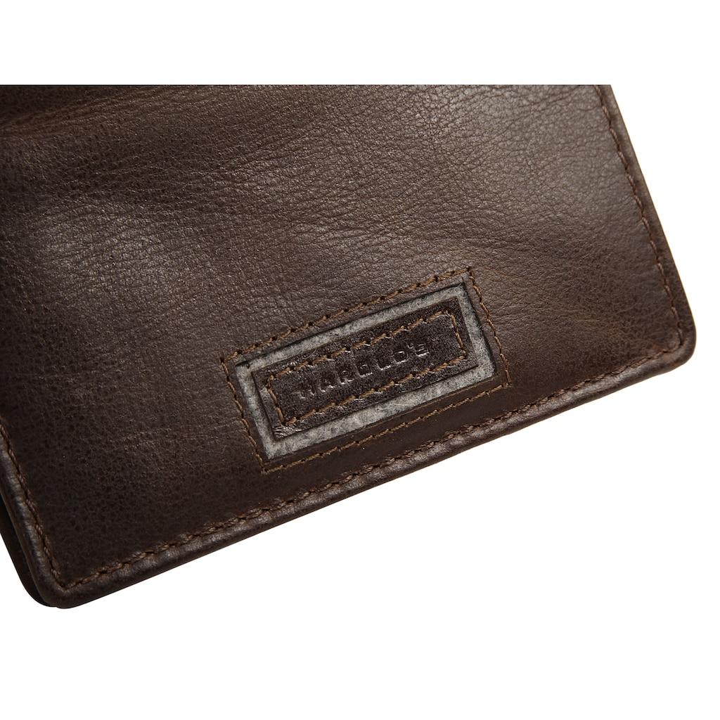 Harold's Geldbörse »ABERDEEN«, 2fach klappbar