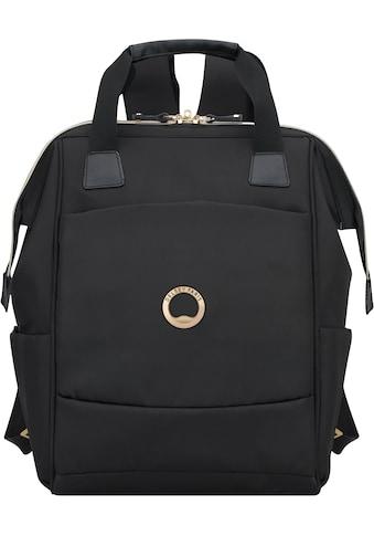 Delsey Laptoprucksack »Montrouge, black«, mit TSA-Schloss kaufen