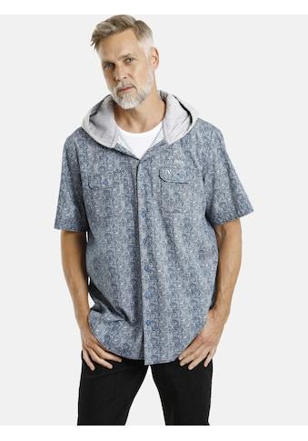 Jan Vanderstorm Kurzarmhemd »SIXTEN«, Kapuzenhemd kaufen